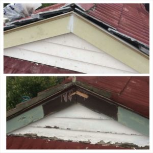 Fascia Amp Scotia Replacement Enhanced Paint And Roof